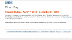 IRS website crashes, and taxpayers have an extra day to file