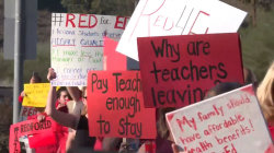 Arizona teachers set to walk out