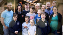 Michigan parents of 14 boys join TODAY live with their latest son