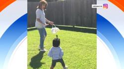 Watch Hoda Kotb's daughter Haley Joy hunt for Easter eggs