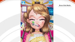 Plastic surgery games for children spur backlash online