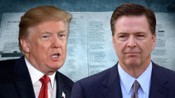 James Comey memos sent to Congress draw swift reaction from Trump