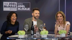 Joel McHale talks about his Netflix show (and drinks wine and scotch)