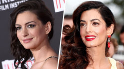 Celebrity look-alikes: Amal Clooney and Anne Hathaway, and more