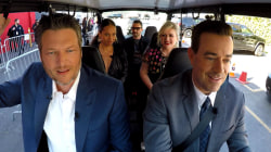 Watch 'The Voice' coaches commute to work together