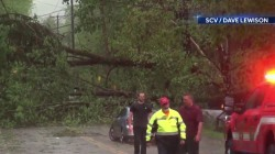 Deadly East Coast storm causes destruction, cuts off power