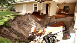 Dozens of sinkholes appear across Central Florida after heavy rain