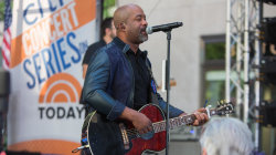 See Darius Rucker perform 'Wagon Wheel' live on the TODAY plaza