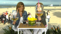 Kathie Lee and Hoda are having a beach bash in LA (with wine, of course)