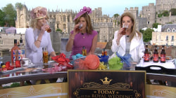For royal wedding, Kathie Lee and Hoda swap wine for Pimm's cups
