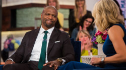 Terry Crews reveals how he rose above 'cult' of toxic masculinity