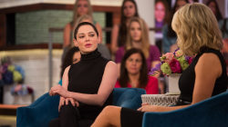 Rose McGowan on Harvey Weinstein: 'I don't ever want to see him again'