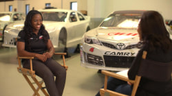 Meet Brehanna Daniels, NASCAR's first female African-American pit crew member
