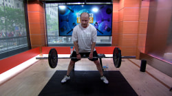 See man attempt to break Guinness sumo deadlift record on TODAY