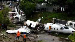 Private jet from Texas crashes in Honduras