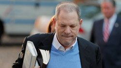 Harvey Weinstein surrenders to authorities in New York City