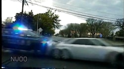 Love triangle sends police on wild high-speed chase in Michigan