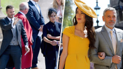 Royal Wedding: Clooneys, Beckhams arrive at Windsor Castle