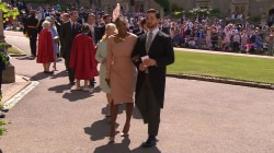 Royal Wedding guests Serena Williams, 'Suits' co-stars take seats