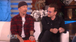 Bono and the Edge of U2 visit Ellen DeGeneres