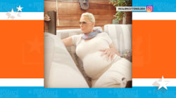 Brigitte Nielsen reveals she is pregnant at age 54