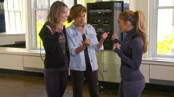 Watch Jennifer Lopez teach Savannah and Hoda her best dance moves