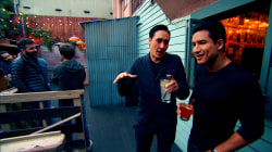Mario Lopez conducts a tour of LA's hottest nightspots