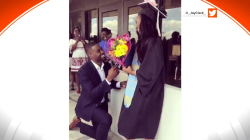 Is a graduation ceremony the right place to pop the question?