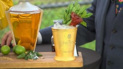 Kentucky Derby drinks: What makes this margarita mint julep so expensive?