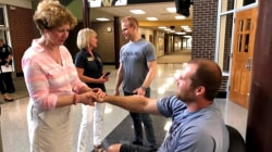 Hero Indiana teacher Jason Seaman released from the hospital