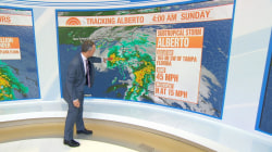 Alberto strengthens as it moves toward Gulf Coast, with flooding expected in the South