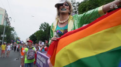 Thousands in Ukraine celebrate gay pride with march