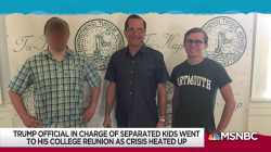 HHS Sec Azar photographed at reunion as border crisis boiled over