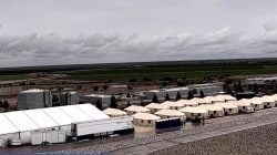 An inside look at shelters and tent cities