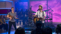 Rock band AJR performs 'Sober Up' live on Megyn Kelly TODAY