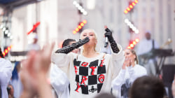See Christina Aguilera perform 'Fighter' live on TODAY