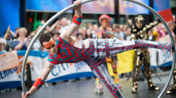Watch Cirque du Soleil perform live on the TODAY plaza