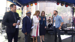 Dierks Bentley: After Hoda held my hand, 'I hope I can play guitar!'