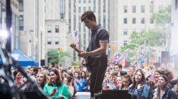 See Shawn Mendes perform 'Nervous' live on the TODAY plaza