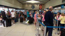 More airline passengers stranded at Charlotte Douglas International Airport