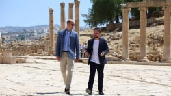 Prince William makes historic trip to Jordan