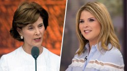 Jenna Bush Hager on mom Laura Bush's immigration comments: 'I'm proud of her.'
