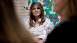 Melania Trump makes unannounced visit to Texas amid immigration uproar
