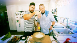 Deserving dad's Father's Day surprise: A cooking lesson from Ryan Scott