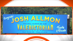 School won't name valedictorian, so dad rents a billboard instead