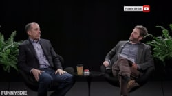 Jerry Seinfeld appears on 'Between Two Ferns'