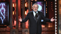 Robert De Niro delivers tirade against Trump at Tony Awards