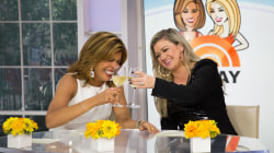 Kelly Clarkson to Hoda Kotb: 'I don't work out, but I do wine instead'