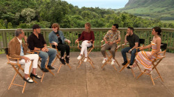 Natalie Morales sits down with the cast of 'Jurassic World: Fallen Kingdom'