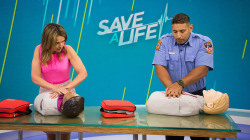 Learn how to save a life: CPR, Heimlich, allergic reactions